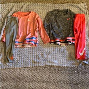 2 Size 3T Nike Sets